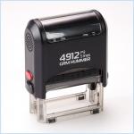 Штамп Автоматический 47х18 мм. 4912